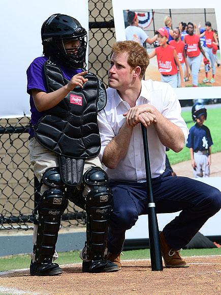 BATTER UP photo | Prince Harry