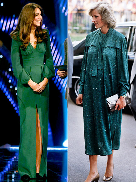 GREEN GODDESSES photo | Kate Middleton, Princess Diana