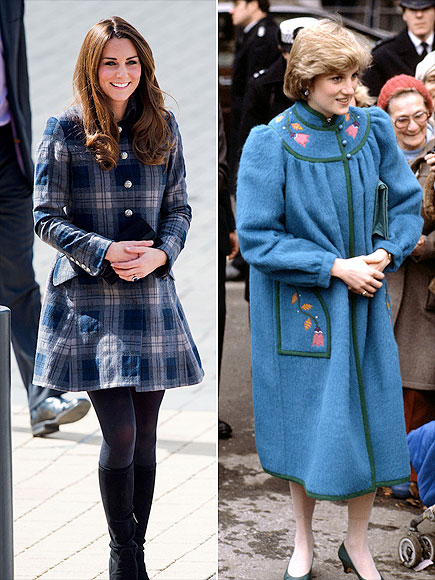 COAT CHECK photo | Kate Middleton, Princess Diana