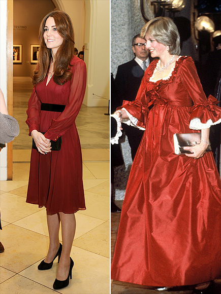 GOING SCARLET  photo | Kate Middleton, Princess Diana