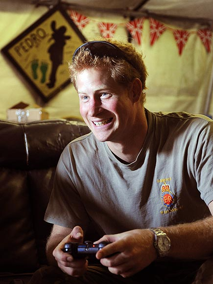 GAME FACE photo | Prince Harry