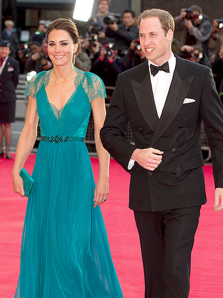 TEAL THE LOVE photo | Kate Middleton, Prince William