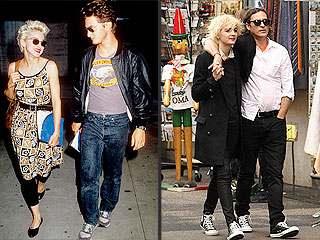Joaquin Phoenix & Girlfriend Are Madonna & Sean Penn Look-alikes