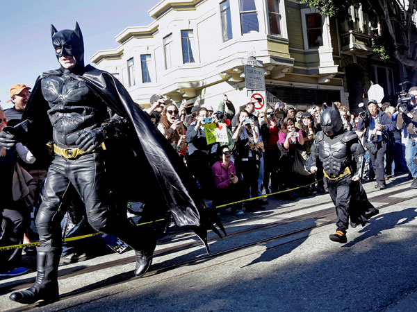 The Day SF Became Gotham City: How a Metropolis Is Making a 5-Year-Old's Wish Come True| Cancer, Batman