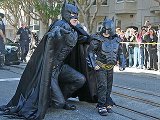 San Francisco Turns into Gotham City for Child with Cancer