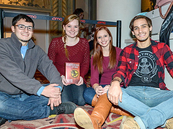 Hunger Games Superfans Teach Us Life Lessons on Catching Fire's Opening Night  The Hunger Games: Catching Fire, The Hunger Games