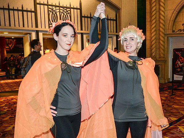 Hunger Games Superfans Teach Us Life Lessons on Catching Fire's Opening Night| The Hunger Games: Catching Fire, The Hunger Games