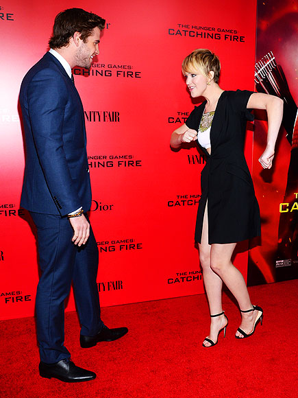 When Jennifer Lawrence Wins a Red Carpet, in 8 Hilarious Photos| Jennifer Lawrence, Individual Class