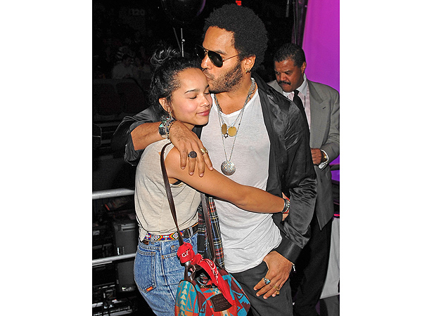 5 Reasons Why Lenny Kravitz Is the Coolest Dad Ever| Lenny Kravitz, Zoe Kravitz