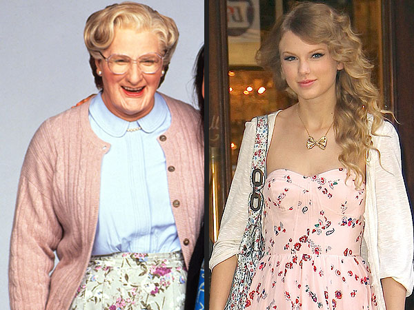 Mrs. Doubtfire's 20th Anniversary Style: Kim Kardashian and More Celebs Channel the Iconic Character| Mrs. Doubtfire, Kim Kardashian, Robin Williams
