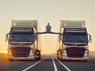 Jean-Claude Van Damme Blows Our Minds with Epic Split