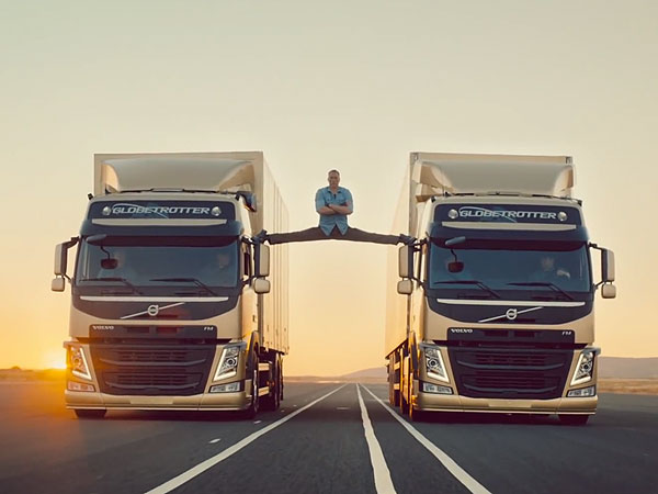 Jean-Claude Van Damme: See Action Star's Amazing Volvo Commercial Stunt