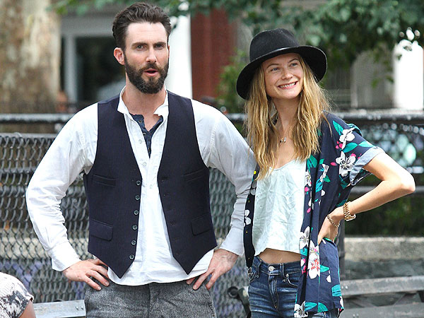 7 Things to Know About Behati Prinsloo, the Fiancée of Sexiest Man Alive Adam Levine| Couples, Adam Levine, Behati Prinsloo