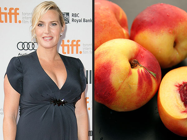 Apple is Out: 8 Cute Food-Inspired Baby Names for Celeb Moms-To-Be| Babies, Pregnancy, Drew Barrymore, Emily Blunt, Gwen Stefani, Jennifer Love Hewitt, Kate Winslet, Kerry Washington, Olivia Wilde, Rachel Zoe