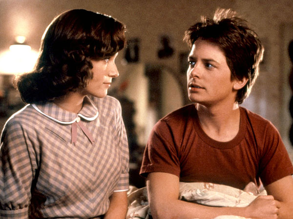 Head Back to the Future with a Cast Reunion on the Set of The Michael J. Fox Show  Movies, Television, Michael J. Fox