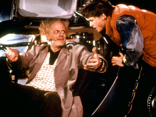 Michael J. Fox and Christopher Lloyd Back To The Future Cast Reunion