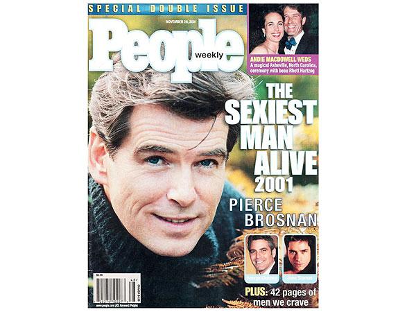 Pierce Brosnan Sexiest Man Alive