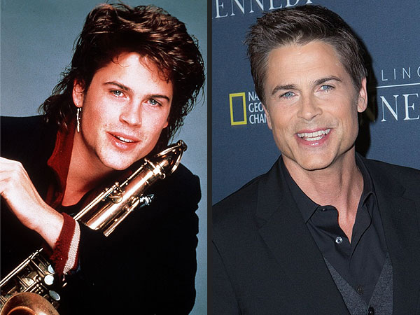 Photo Evidence That Rob Lowe Is an Ageless Wonder| Killing Kennedy, Rob Lowe
