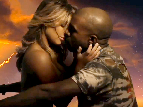 Kimye Isn't the First Couple to Appear in a Steamy Music Video Together