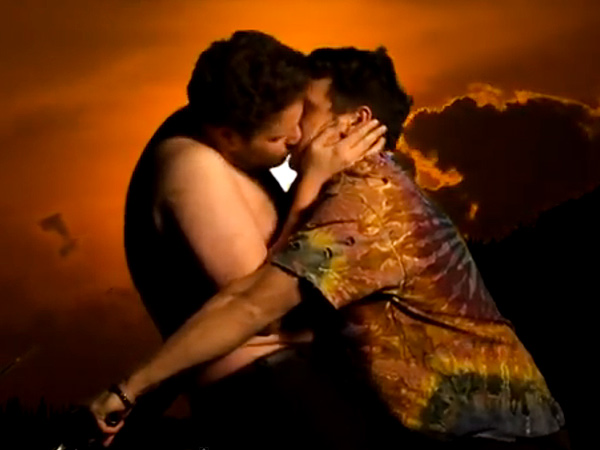 James Franco and Seth Rogen's 'Bound 2' Parody Makes Readers LOL