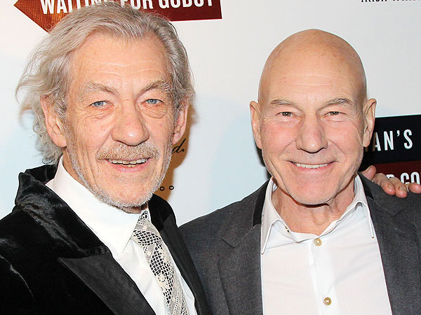 Patrick Stewart and Ian McKellen Tweet Pictures of Themselves Across NYC
