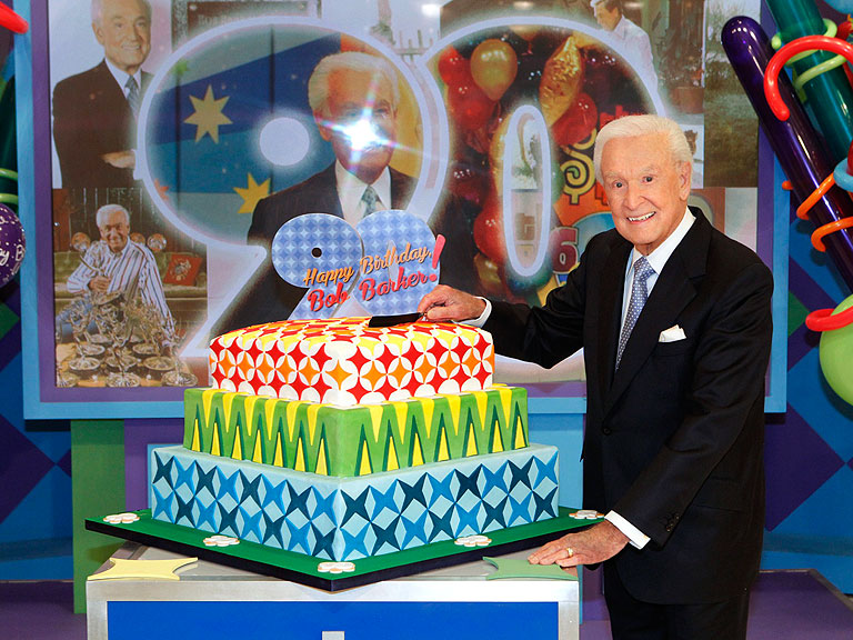 Cake Tv Show Cbs : Bob Barker celebrates 90th birthday with an appearance on ...