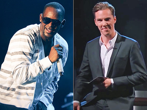 Watch: R. Kelly Gets His Sexy Revenge on Benedict Cumberbatch | Benedict Cumberbatch, R. Kelly