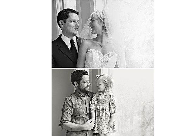 In Memory of Mom: Dad Recreates Wedding Photos with Daughter as Touching Tribute| Weddings, Photography, Real People Stories