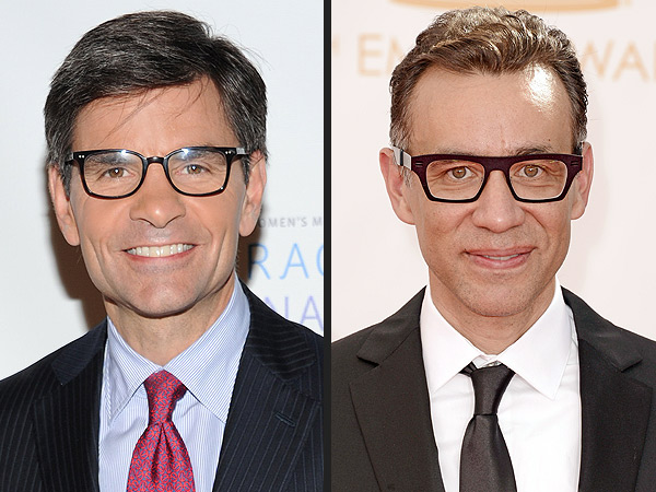 Fancasting a Morning News Rivalry: The Today Show vs. Good Morning America| Lifetime, Good Morning America, Today, Television, Fred Armisen, George Stephanopoulos