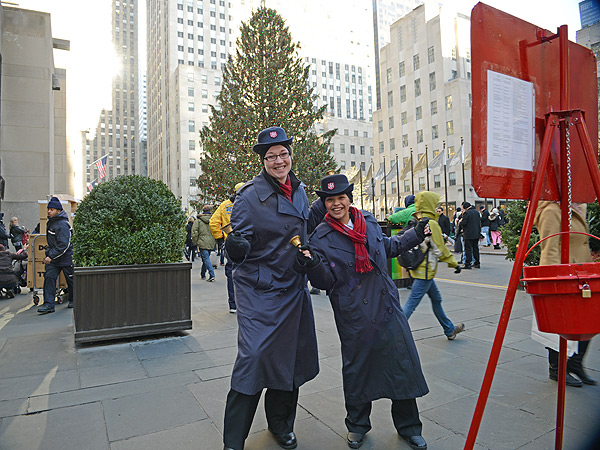 Portraits of N.Y.C. Salvation Army Bell Ringers| Real People Stories