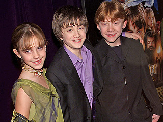 A Look Back at the First Harry Potter Film's World Premiere | Harry Potter, Harry Potter and the Sorcerer's Stone, Daniel Radcliffe, Emma Watson, Rupert Grint