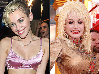 Miley Cyrus: Dolly Parton Is My Role Model