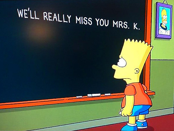 The Simpsons Bids Farewell to Marcia Wallace and Mrs. Krabappel| The Simpsons, TV News, Marcia Wallace, TV Seasons & Episodes, TV Shows