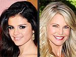 Selena Gomez and Christie Brinkley