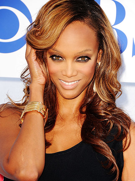 TYRA BANKS: FOREHEAD photo | Tyra Banks