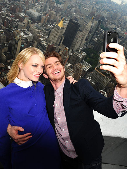 ANDREW & EMMA photo | Andrew Garfield, Emma Stone