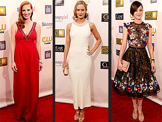 Critics&#39; Choice Style: From Mild to Wild | Jennifer Lawrence