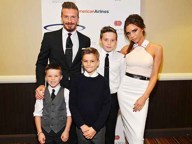 STYLISH DAD: DAVID BECKHAM photo | David Beckham, Victoria Beckham