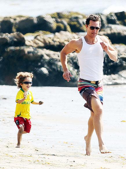 NATURE DAD: MATTHEW MCCONAUGHEY photo | Matthew McConaughey