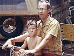 Celebrity Throwback Photos with Dad   James Denton