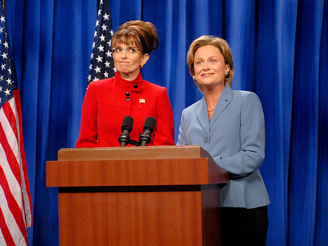 2. SNL: SARAH PALIN VS. HILLARY CLINTON  photo | Amy Poehler, Tina Fey