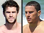 Hollywood's Sizzling Beach Bums | Liam Hemsworth