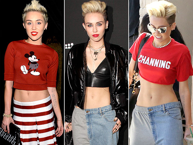 MILEY'S ABS photo   Miley Cyrus