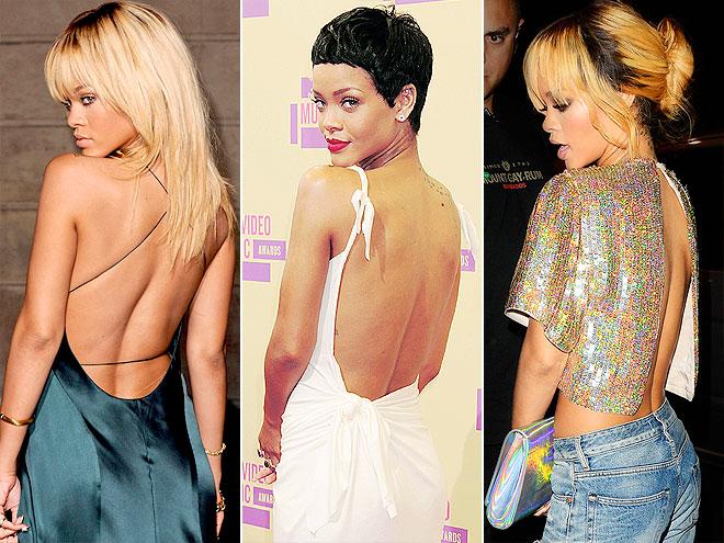 RIHANNA'S BACK photo | Rihanna