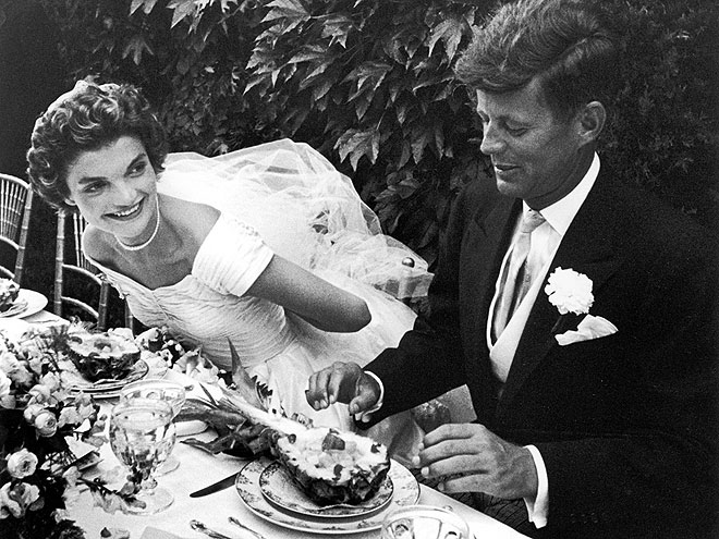 LOVE IN BLOOM photo | Jacqueline Bouvier Kennedy Onassis, John F. Kennedy