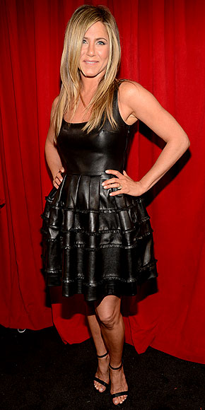 People's Choice Awards, Jennifer Aniston, Dior, People's Choice Awards dresses, leather dress