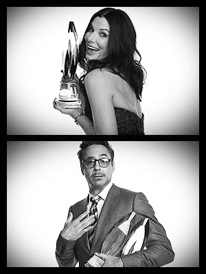 Trophy Love! Backstage at the People's Choice Awards