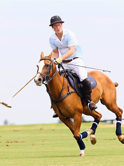 NOT HORSING AROUND photo | Prince Harry