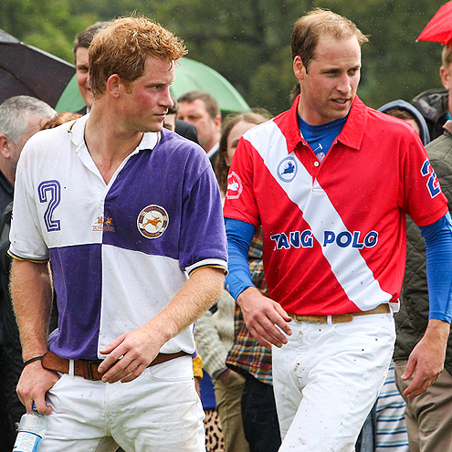 PRINCES HARRY & WILLIAM photo | Prince Harry