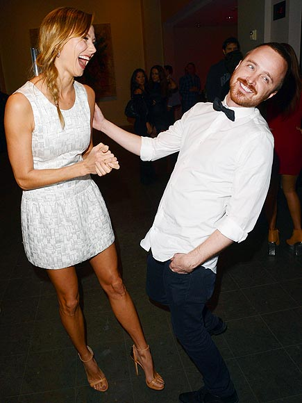 HOMETOWN GLORY photo | Aaron Paul, Stacy Keibler